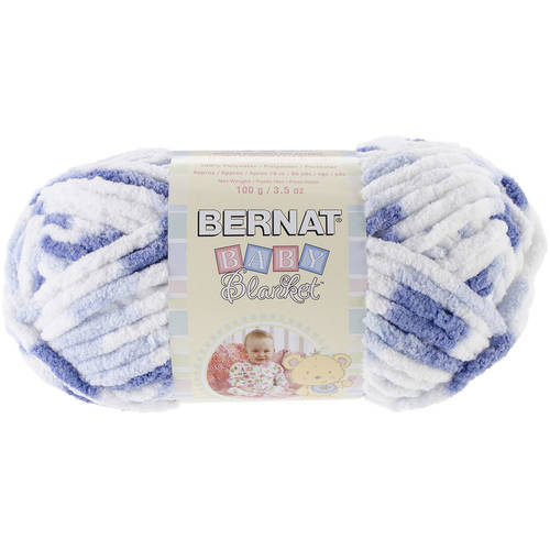 Bernat Baby Blanket Yarn, 100g, Little Denim