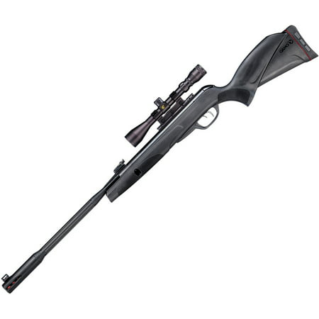 Gamo 6110063254 Whisper Fusion Mach 1 Black Break Open .177 Pellet All Weather Stock w/ 3-9x40mm - Satin Black Pellet