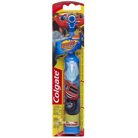 Colgate Kids Powered Toothbrush, Extra Soft, Blaze