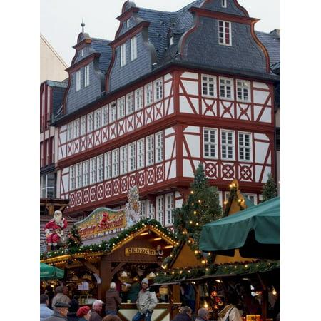 Weihnachtsmarkt (Christmas Market), Frankfurt, Hesse, Germany, Europe Print Wall Art By Ethel Davies - Halloween Frankfurt Germany