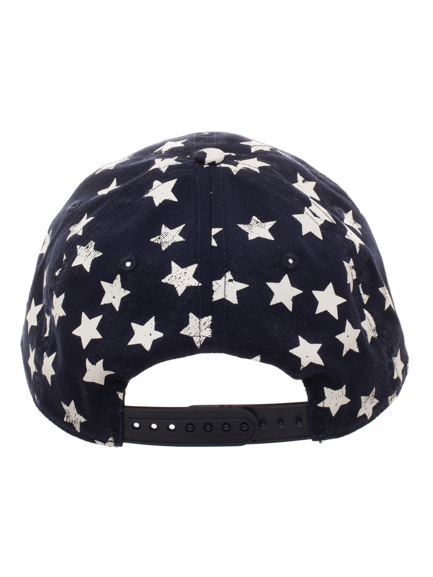 Bioworld - Boy s Americana Stars and Stripes Curved Bill Baseball Hat with Stars  Crown and Striped Bill - Walmart.com fc004597c0c4