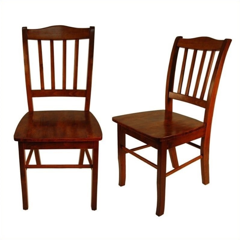 Boraam Shaker Dining Chairs, Set of 2, Multiple Colors