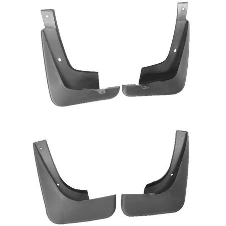 Splash Guard Front Rear Mud Flaps Fender Mudguard 4 PC For Toyota Camry 02-06 Aluminum Universal Mud Flaps