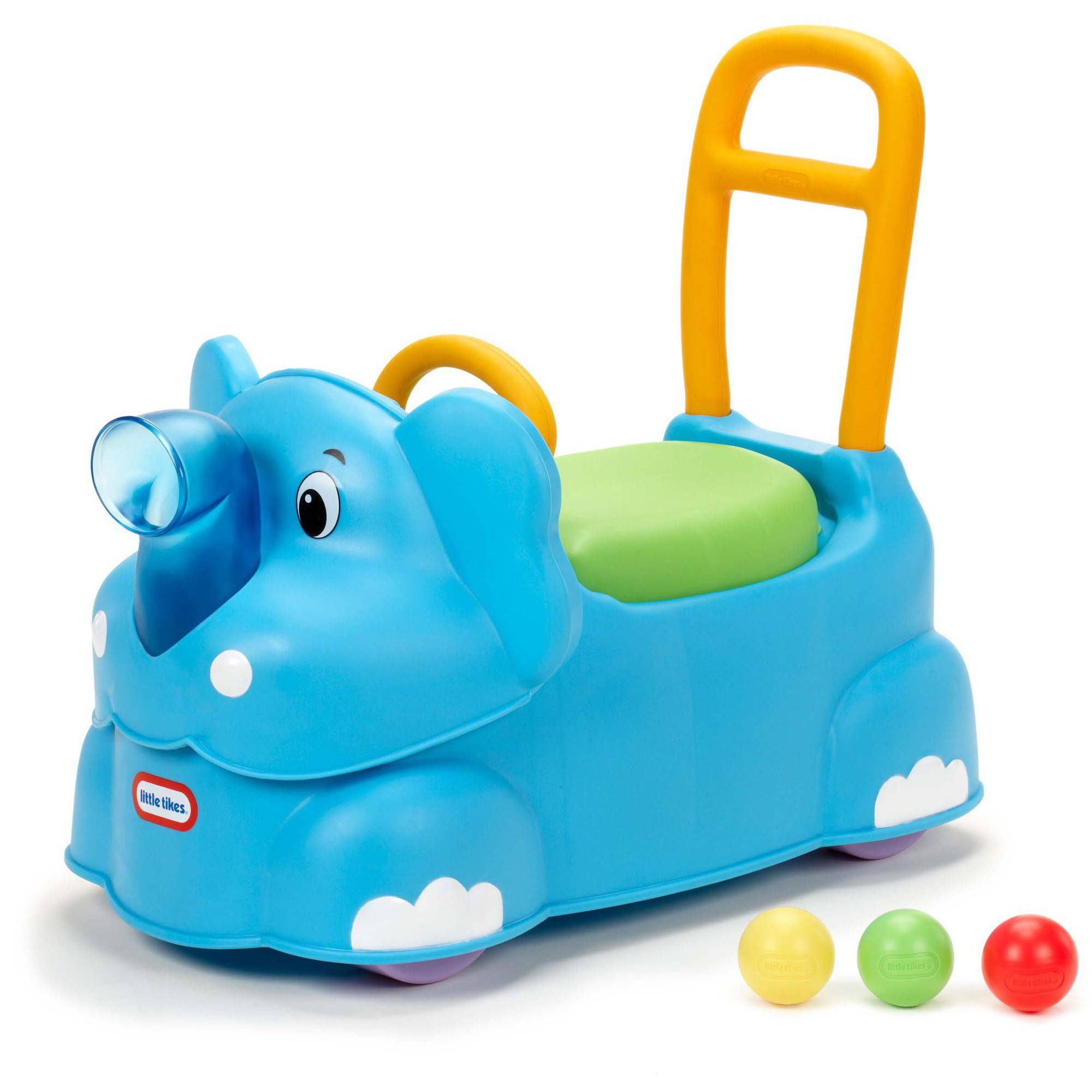 Little Tikes Scoot Around Elephant Riding Push Toy - Walmart.com