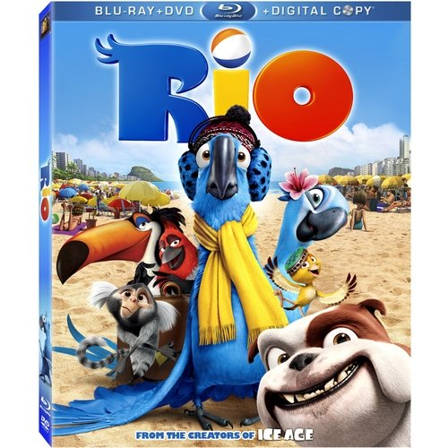 Rio (Blu-ray   DVD) (Widescreen)