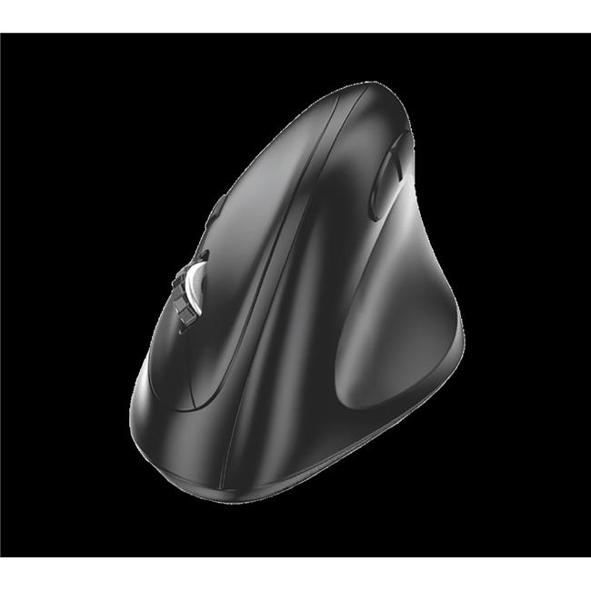 Compliant Ergonomic Usb Mouse, Black