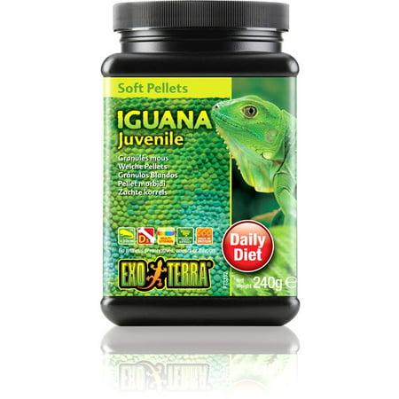 Exo Terra Soft Pellets, Iguana Juv 8.4oz