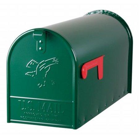 Jumbo Rural Mailbox - Large Green Rural Size Mailbox