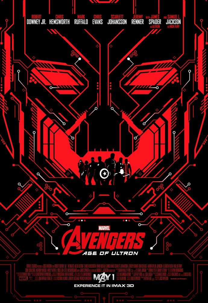 AVENGERS AGE OF ULTRON MOVIE POSTER 1 Sided ORIGINAL MINI SHeet Version B 13x19, This is an Original Poster issued by... by