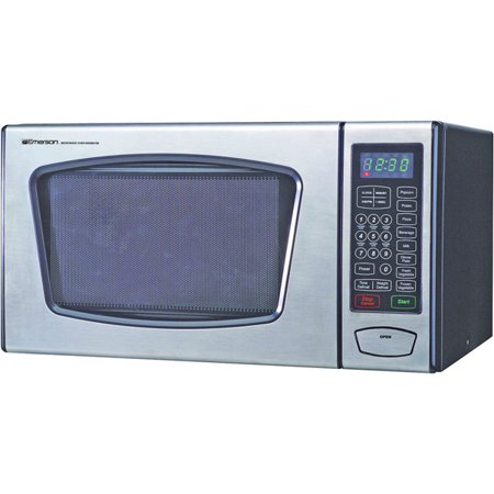 Emerson Mw8991 Microwave Oven Countertop 0 9 Ft 179 900w Stainless