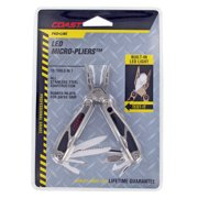 """Coast C2899CP 4.5"""" Stainless Steel Pro Line LED Micro Pliers™ Multi Tool"""