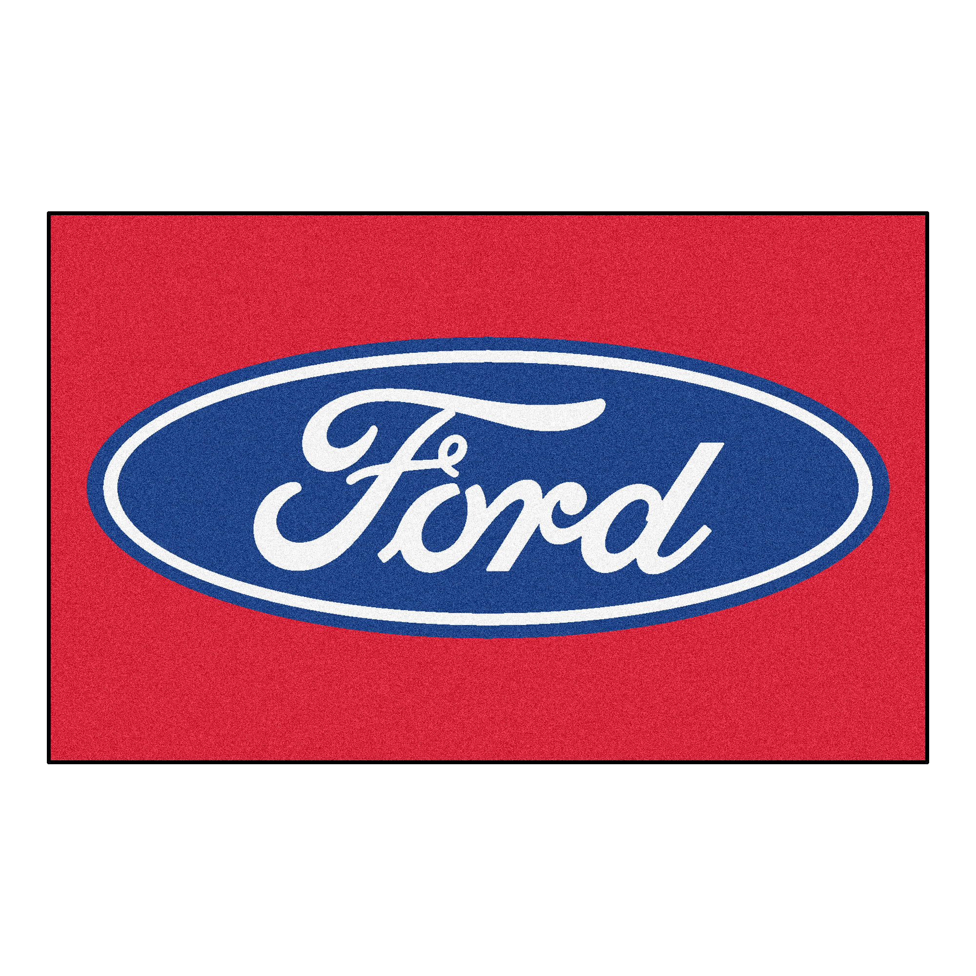 Ford Oval Ulti-Mat 5'x8' - Red