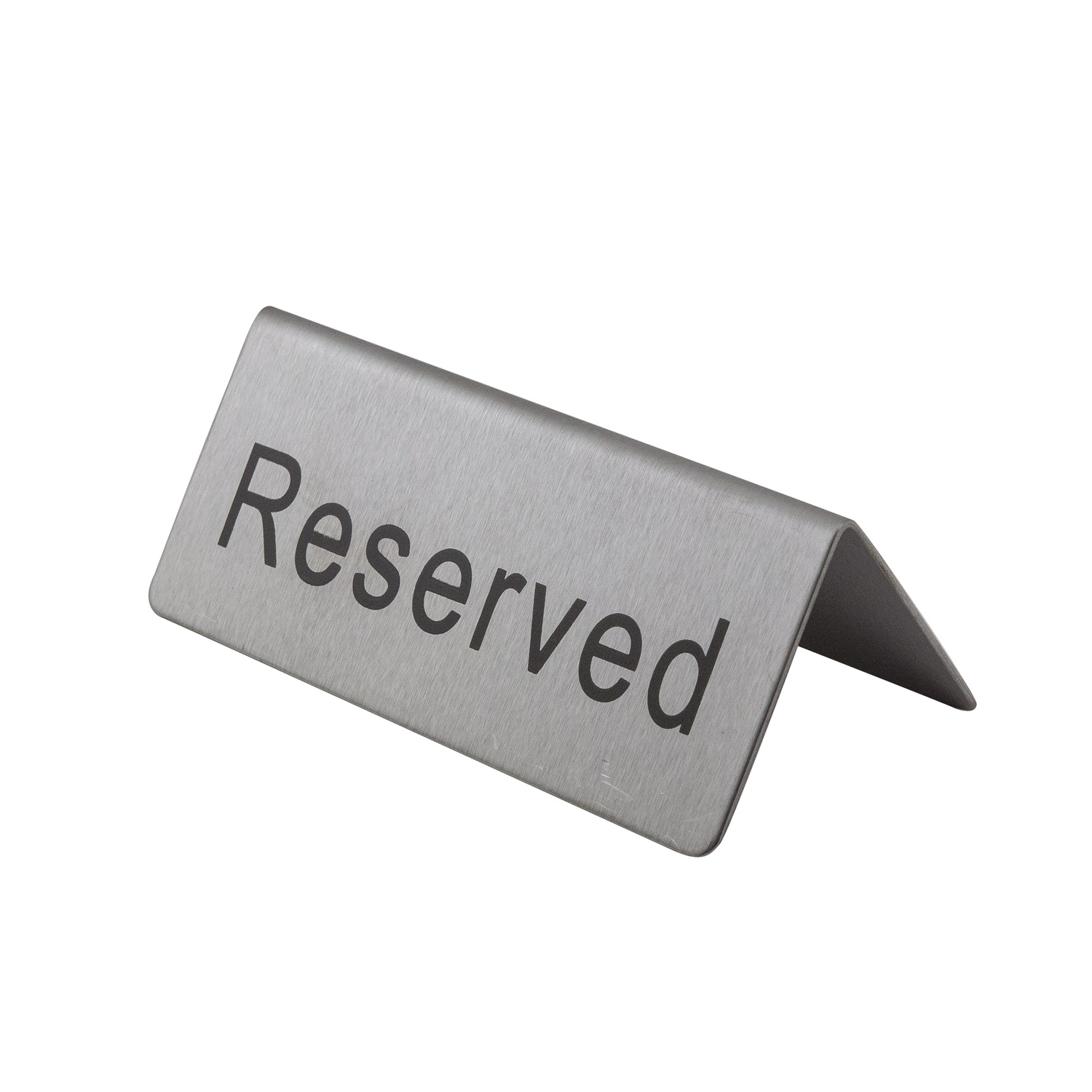 stainless steel reserved table sign walmart com