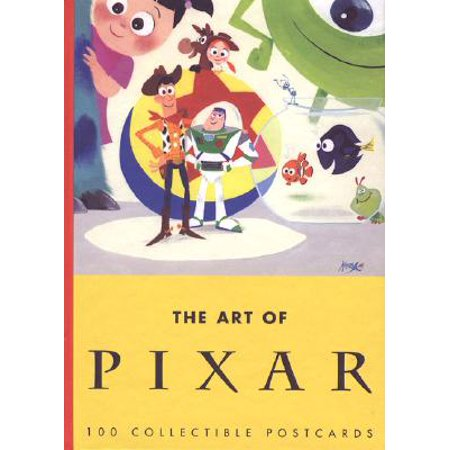 Art of Pixar: 100 Collectible Postcards (Book of Postcards, Disney Postcards, Animated Gift Card) : 100 Collectible - Gift Disney