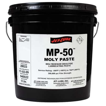 JET-LUBE 28023 Moly Paste, 1 Gal. Pail (Moly 60)