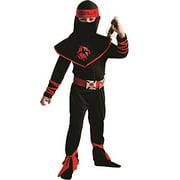 Ninja Warrior Costume - Size Small 4-6