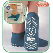 Terries Slip Resistant Socks Single Tread-XXXL-ROYAL BLUE-BARIATRIC