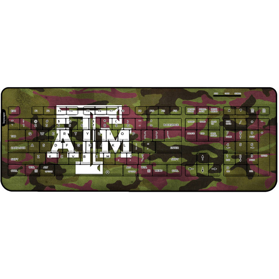 Texas A&M Aggies Wireless USB Keyboard