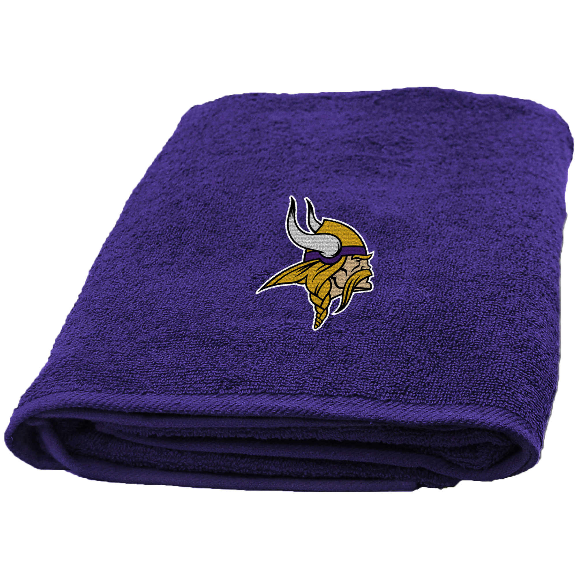NFL Applique Vikings Bath Towel, 1 Each