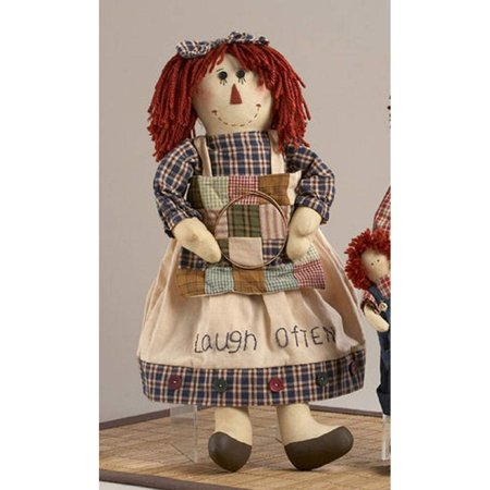 Delton 18 Inches Rag Tot Girl Doll, Blue](Broken Rag Doll)