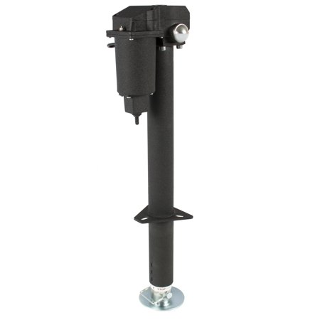 Best Choice Products 12V 3500lb Steel Electric Automatic Heavy-Duty Power Trailer Tongue Jack for RV, Boat, Jet Ski, A-Frame Camper- (Best Rv For One Person)