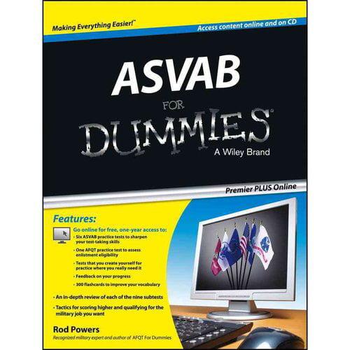 ASVAB for Dummies, Premier PLUS
