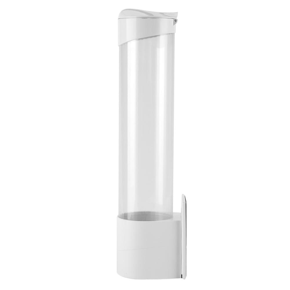 Yosoo Anti Dust Paper Cup Dispenser Plastic Holder 7.5cm 50 Cups Convenient Container,Paper Cups Dispenser, Paper Cups Holder