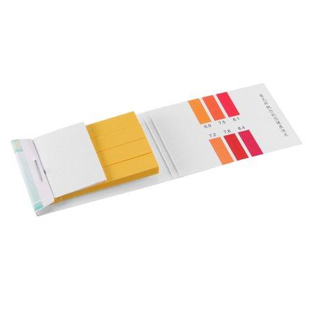 PH Test Strips 6.9-8.4 Indicator Paper Lab Litmus Tester 80in1 Kit Water Food Pool Aquarium Testing Alkaline Acid