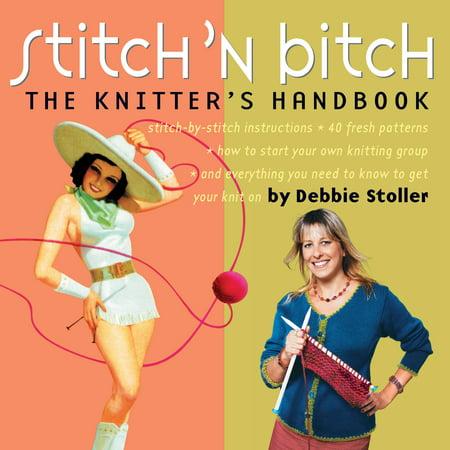 Stitch 'n Bitch - Paperback - Bitch Button