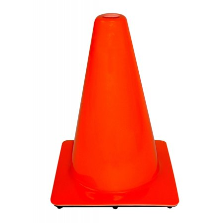 3M Non-Reflective Traffic Safety Cone, 8.75 in. x 8.75 in. x 12 in., Orange