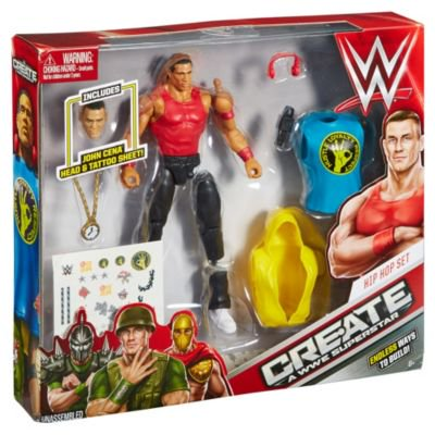 Wwe Create A Superstar John Cena Figure