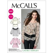 McCall's Pattern Misses' and Women's Tops and Belt, (8, 10, 12, 14, 16)