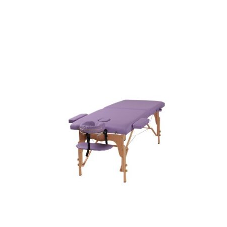 The Best Massage Table Two Fold Purple Portable Massage Table - PU Leather High