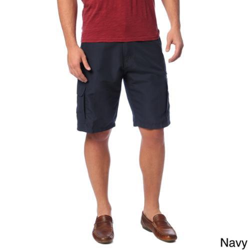 Burnside Men's Microfiber Casual Shorts Navy  34
