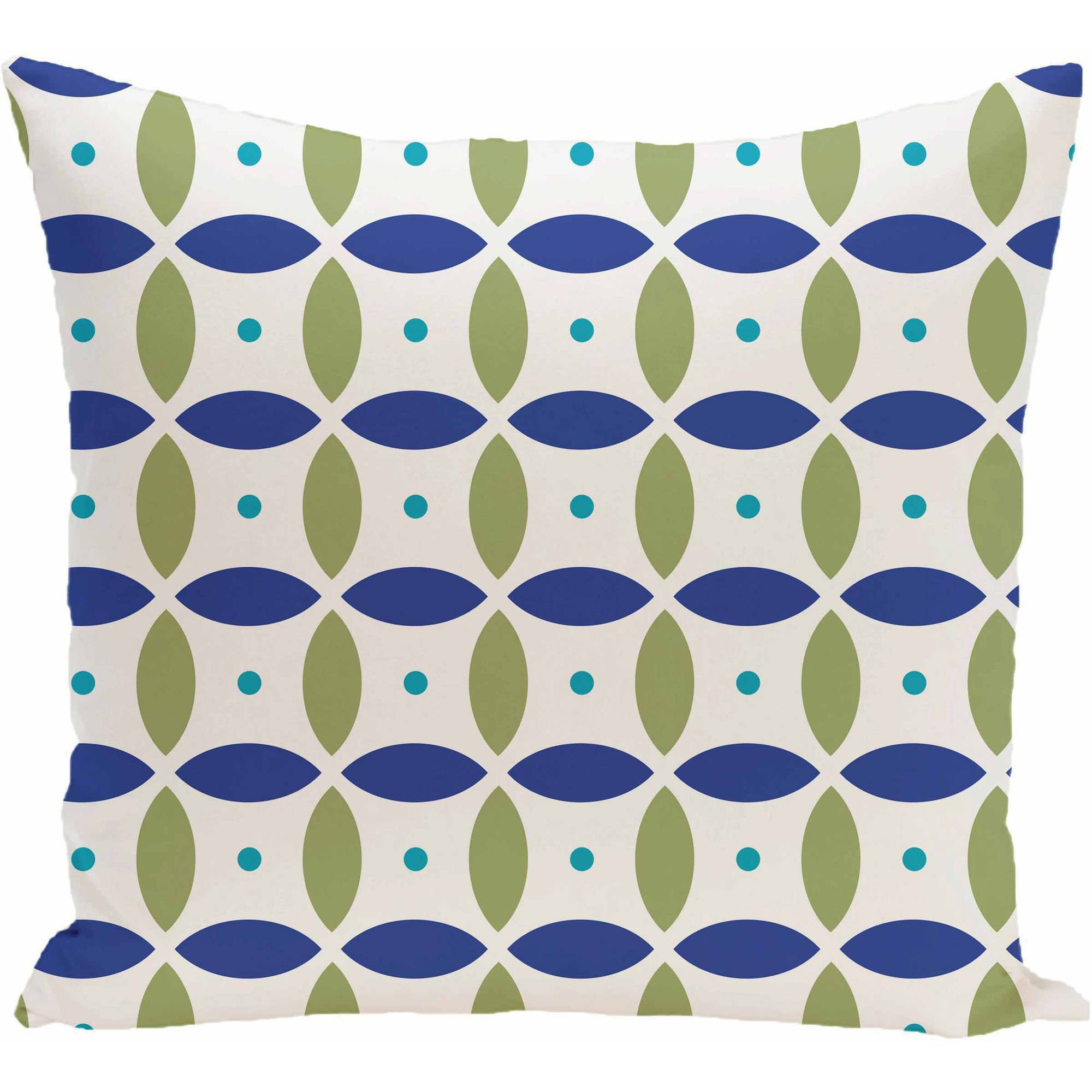 "Simply Daisy Geometric Print Decorative Pillow, 16"" x 16"""