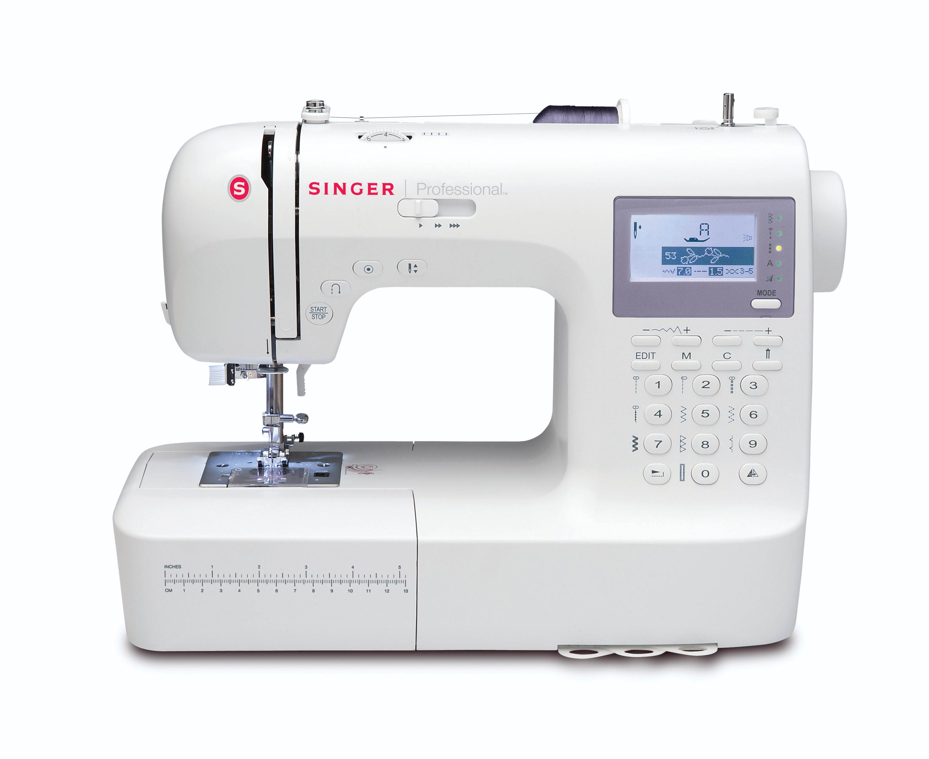 Singer Professional 9100 Sewing Machine 10 Ct Printable Threading Guide Easy Crafts