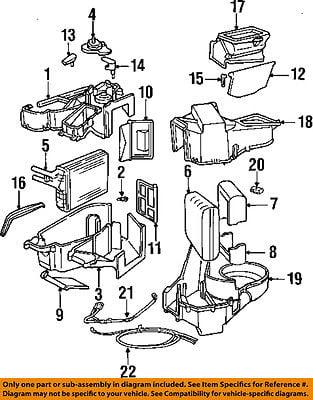 Chrysler Oem Evaporator Heater Lever 4644525