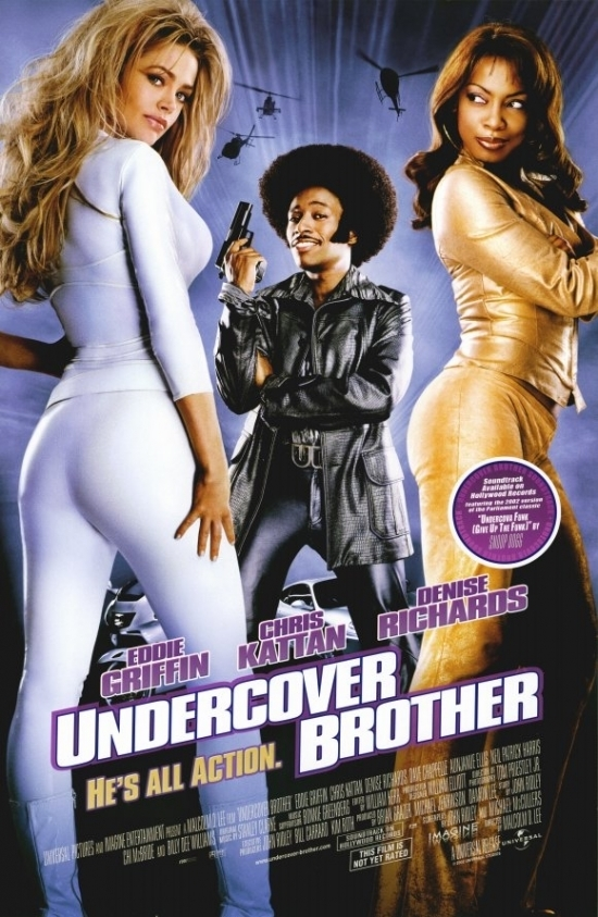 Undercover Brother Movie Poster (11 x 17) - Walmart.com ...
