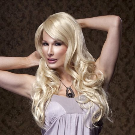 Blush Broadway Fantasy Style Synthetic Wig - Cali Blonde