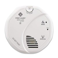 First Alert SA511CN2-3ST Interconnected Wireless Smoke Alarm with Voice Location, Battery Operated, 2-Pack