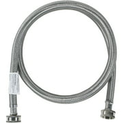 Certified Appliance Accessories WM72SS Braided Stainless Steel Washing Machine Hose, 6ft