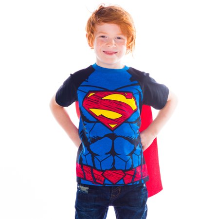 Superman Toddler/ Little Boys' T-shirt with Cape (3T)](Hot Girl In Superman Shirt)