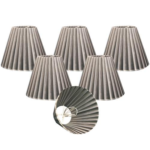 Alcott Hill Organza 6'' Silk Empire Lamp Shade (Set of 6)