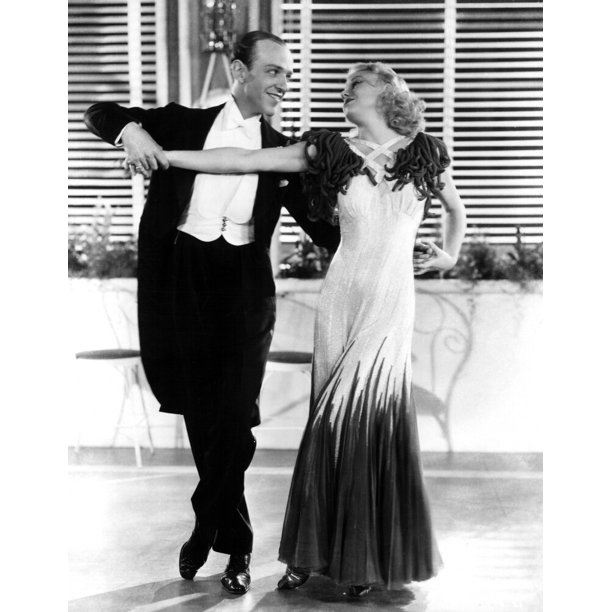 The Gay Divorcee Fred Astaire Ginger Rogers 1934 Photo Print Walmart Com Walmart Com