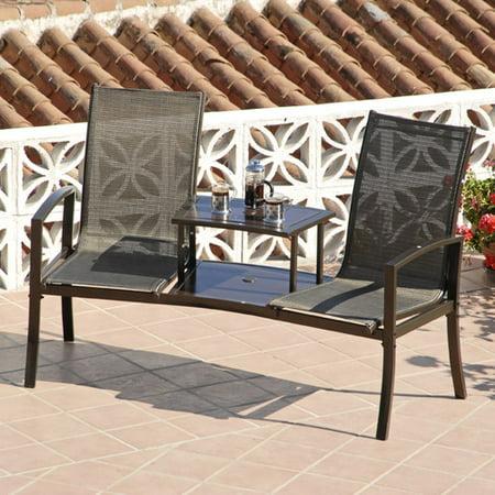 SunTime Outdoor Living Havana Steel Tete-a-Tete Bench ... on Suntime Outdoor Living id=32899