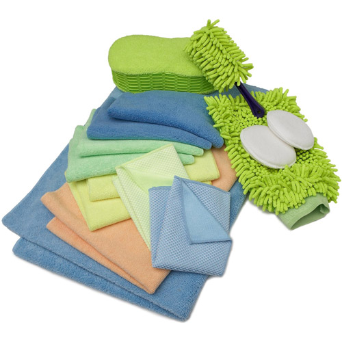Zwipes 12-Piece Deluxe Wash Wax and Dry Kit