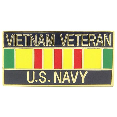 U.S. Navy Vietnam Veteran Ribbon Pin 1