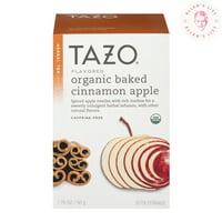 (3 Boxes) Tazo Organic Baked Cinnamon Apple Caffeine-Free Herbal Tea Bags, 20 Ct