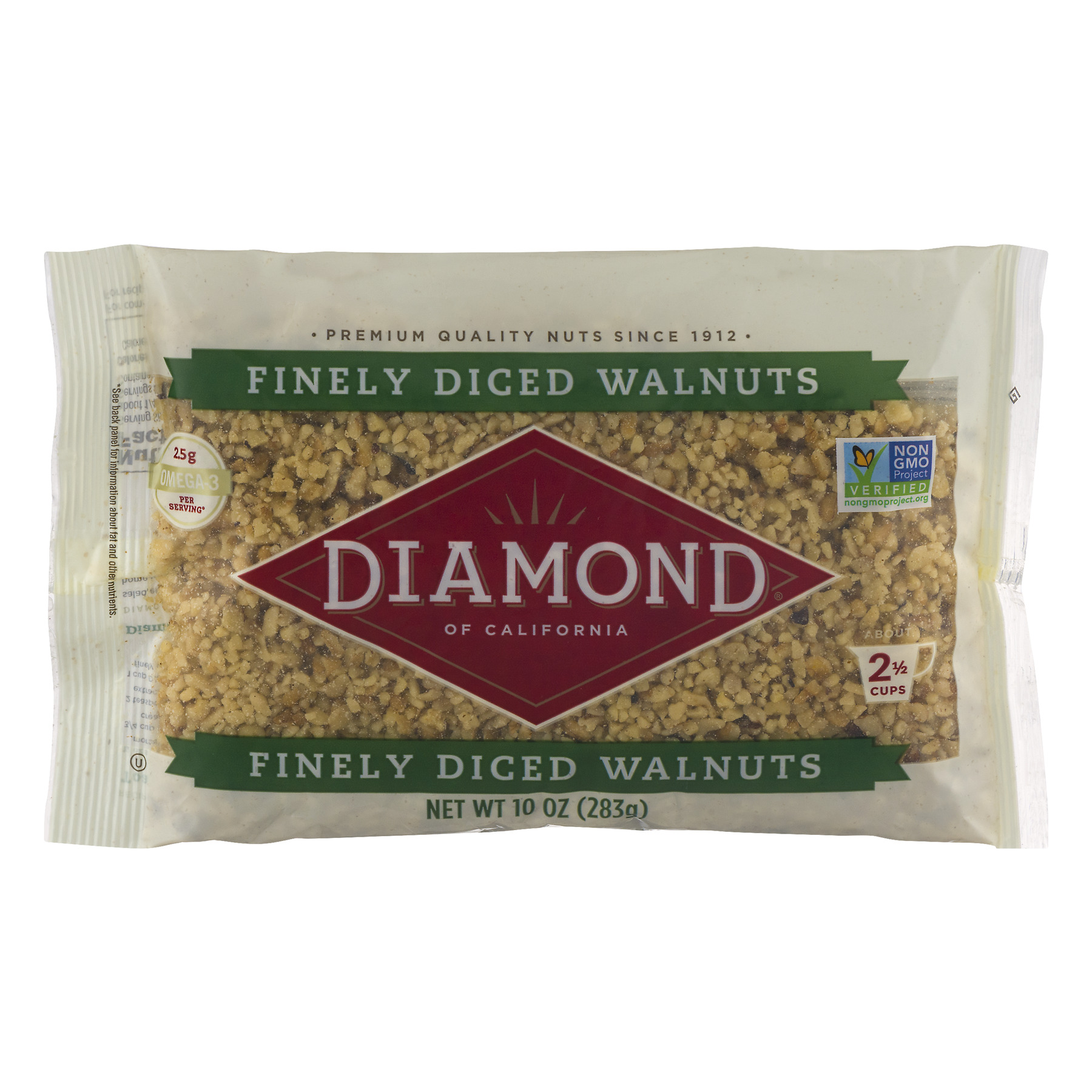 Diamond of California Finely Diced Walnuts, 10.0 OZ