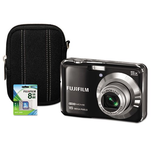 Fuji 600013632 - Fuji FinePix AX660 Digital Camera Bundle